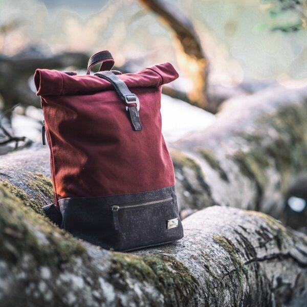 Rolltop Rucksack nachhaltig