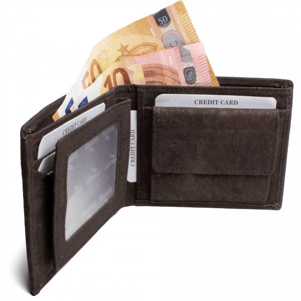 Portemonnaie nachhaltig Münzfach