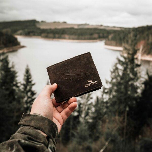 nachhaltiges Kork Portemonnaie Herren