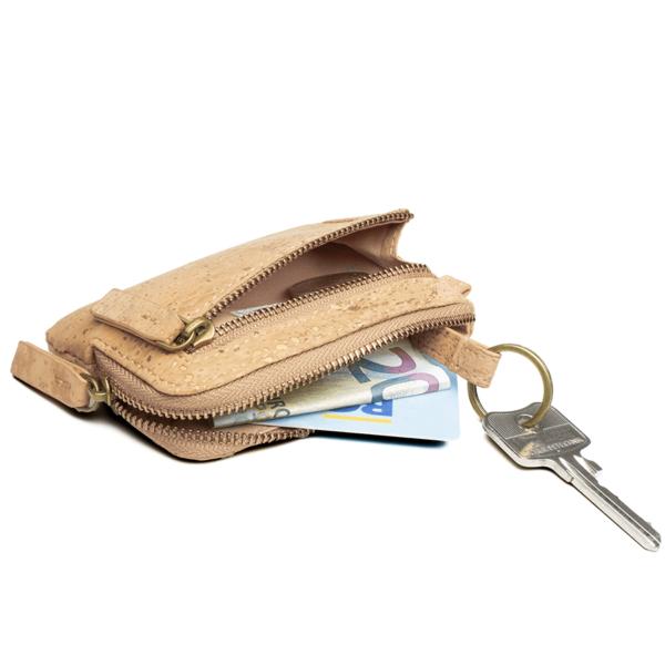 Schlüsseletui mit Geldfach
